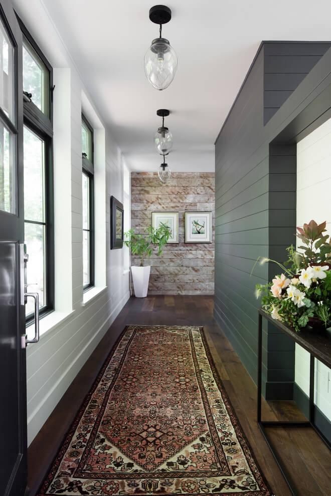 Two-toned Hallway Decor Ideas