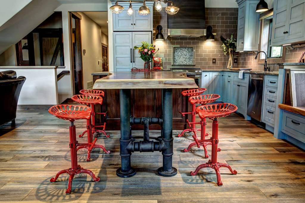 Industrial Dining Table Set Design