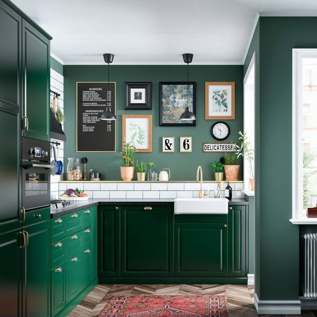 Sage Green Kitchen Wall Color
