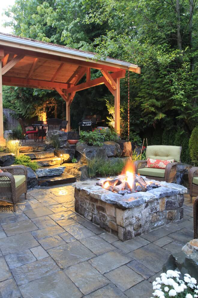 Bring Warmth With Outdoor Firepits