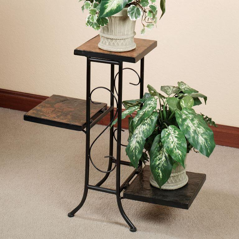Modern Multi-Tiered Plant Stand