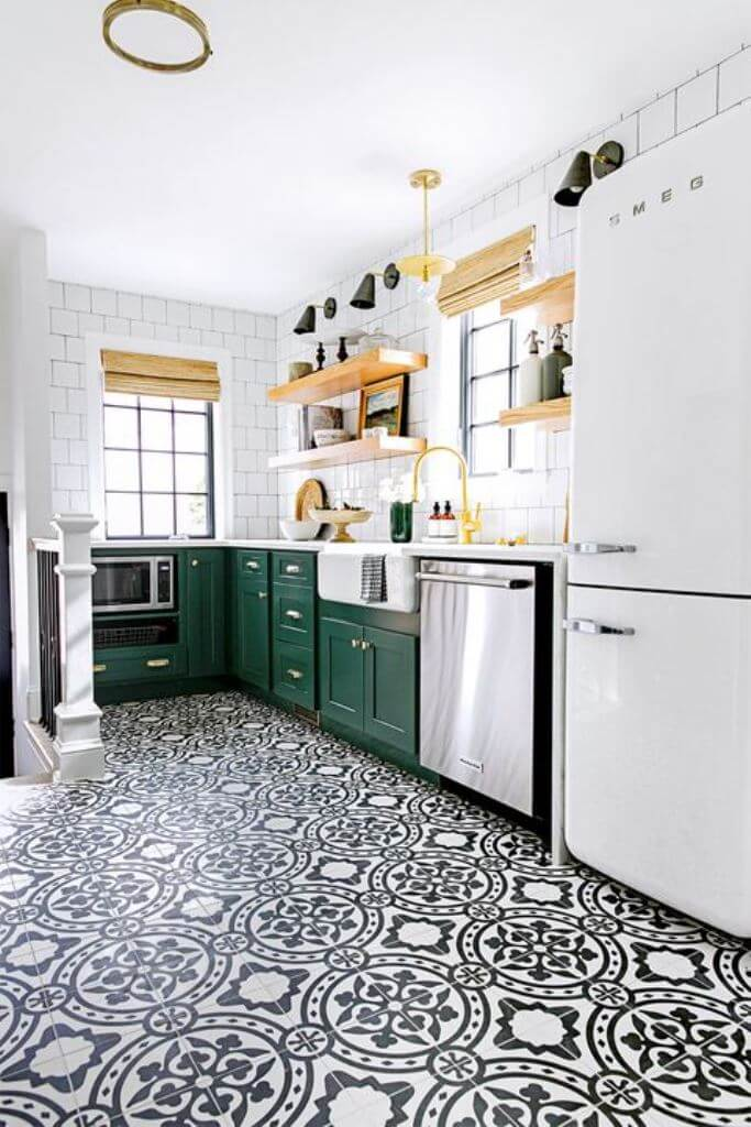 Patterned Tiles For Kitchen Decor Ideas