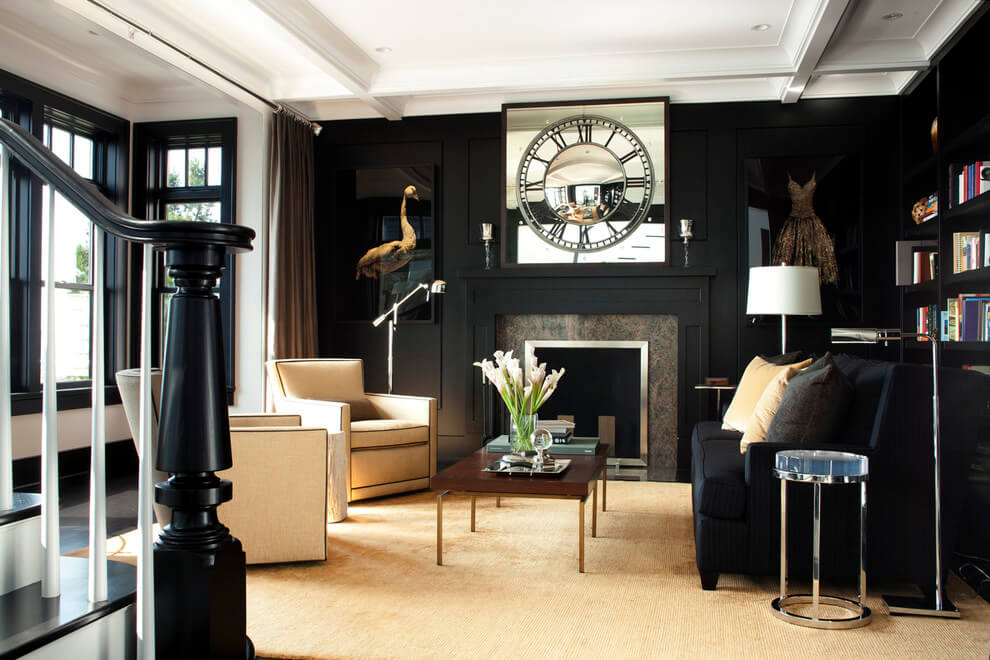 11 Dark Drawing Room Design Ideas That Will Amaze You